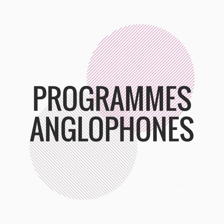 Visuel programmes anglophones
